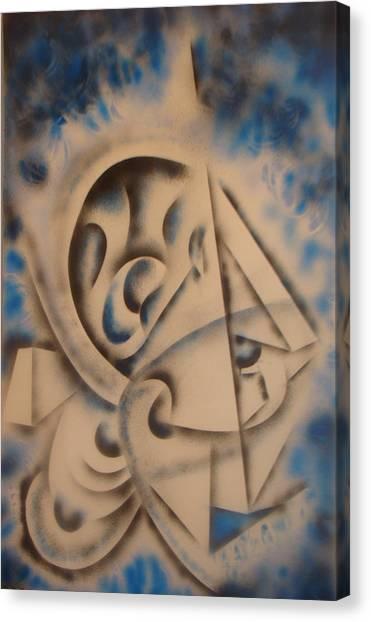 Cuttingedge  Canvas Print