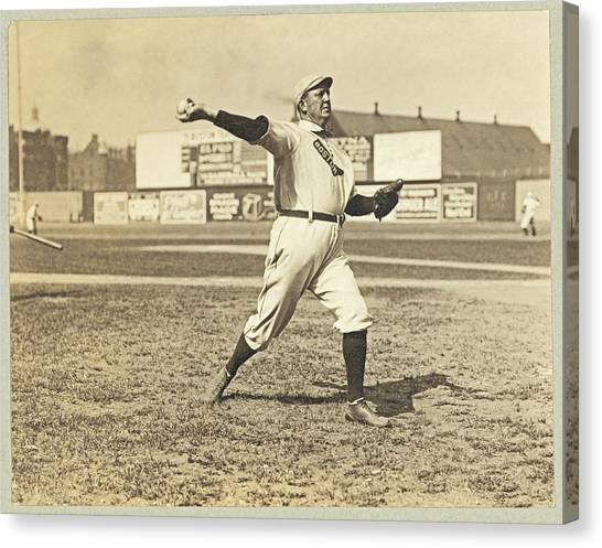 Cy Young July 23rd 1908 Canvas Print