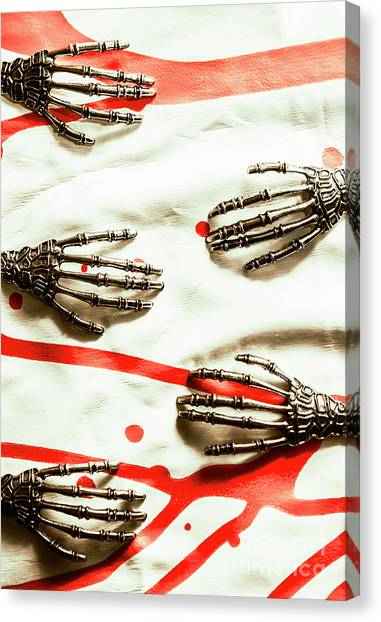 Skeletons Canvas Print - Cyborg Death Squad by Jorgo Photography - Wall Art Gallery