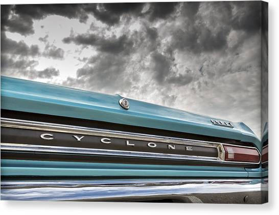 Cyclones Canvas Print - Cyclone by Caitlyn Grasso