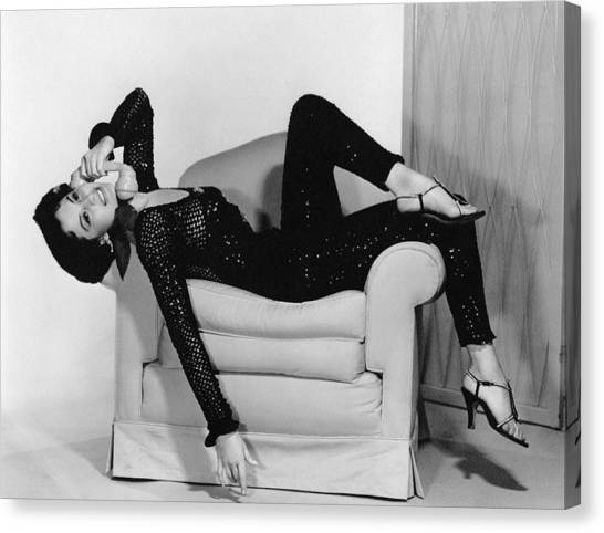 Charisse Canvas Print - Cyd Charisse, Ca. 1950s by Everett