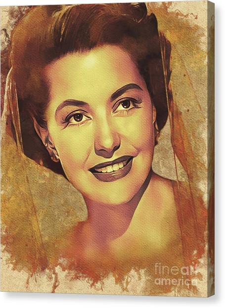 Charisse Canvas Print - Cyd Charisse, Hollywood Legend by Mary Bassett