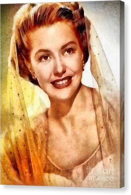 Charisse Canvas Print - Cyd Charisse, Vintage Hollywood Legend by Frank Falcon