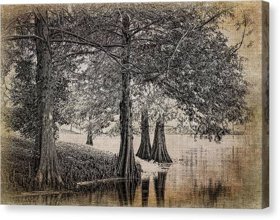 Cypress Retreat Canvas Print