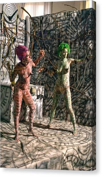 D Energy E Canvas Print by Leigh Odom