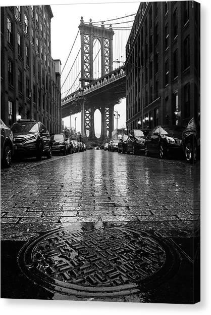 D U M B O  In The Rain Canvas Print