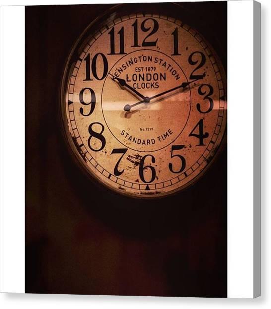 Steampunk Canvas Print - Día 4: Reloj. #project365 by Joel Garcia