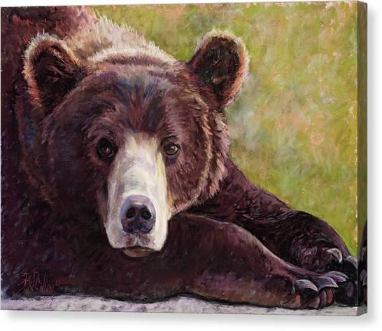Da Bear Canvas Print