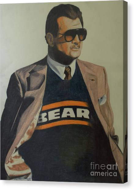 Da Coach Ditka Canvas Print