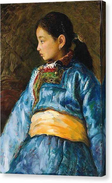 Da Guo La Canvas Print