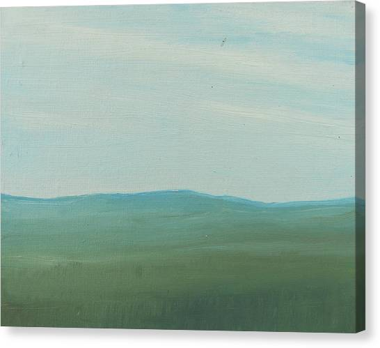Dagrar Over Salenfjallen- Shifting Daylight Over Distant Horizon 4 Of 10_0029 51x40 Cm Canvas Print