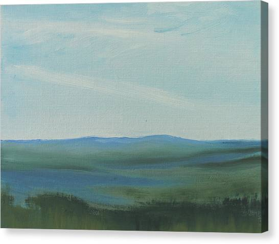 Dagrar Over Salenfjallen- Shifting Daylight Over Distant Horizon 6a Of 10_0027 50x40 Cm Canvas Print