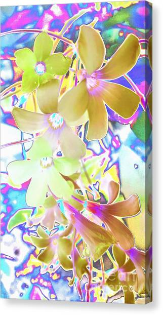 Dainty Bloosoms Canvas Print
