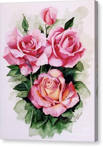 Dainty Ladies Canvas Print