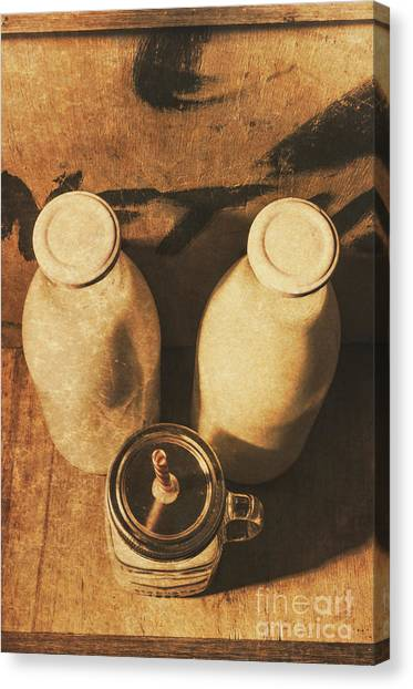 Traditional Canvas Print - Dairy Nostalgia by Jorgo Photography - Wall Art Gallery