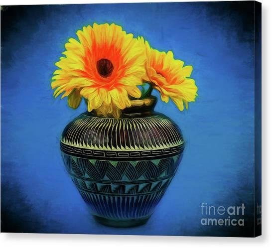 Daisy 121417-1 Canvas Print