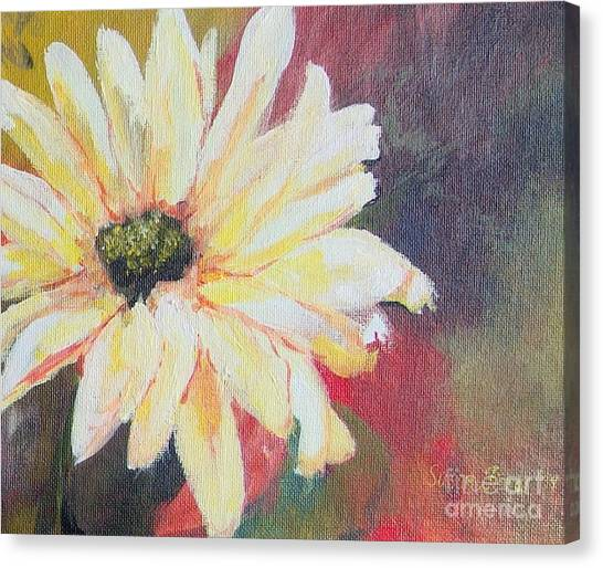 Daisy 3 Of 3 Triptych Canvas Print