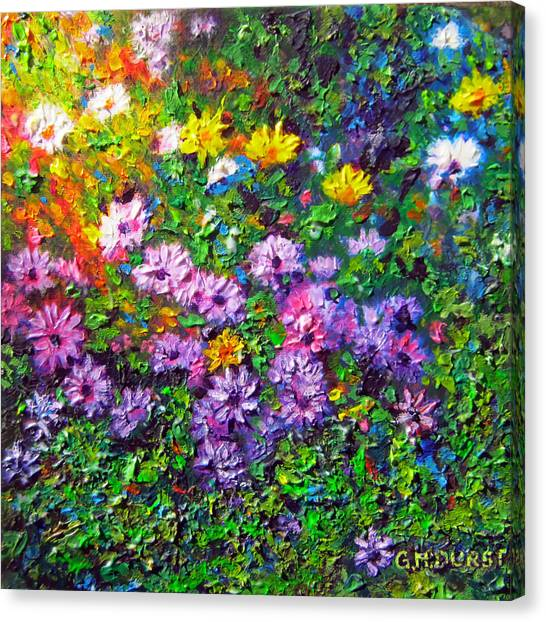 Cape Town Canvas Print - Daisy Delicious by Michael Durst