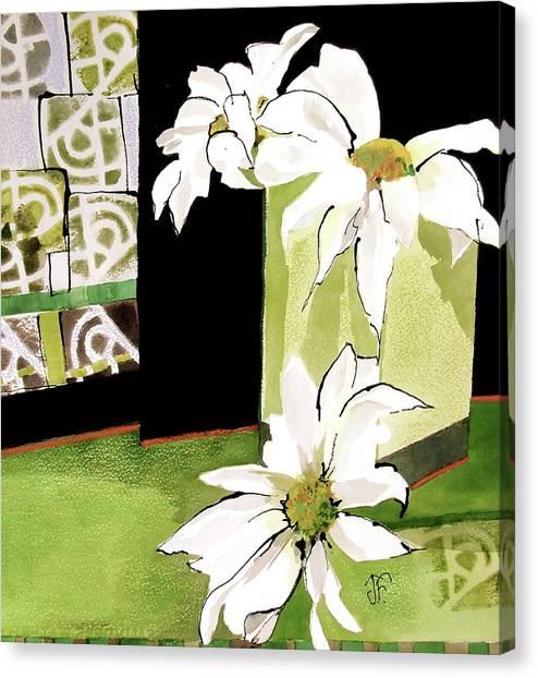 Canvas Print - Daisy Delight by Jane Ferguson