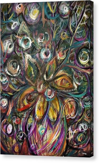 Daisy Eyes Canvas Print