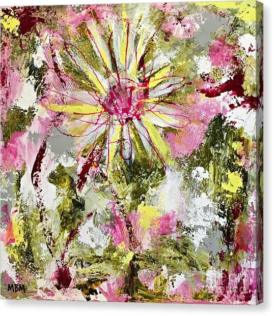 Daisies On Parade No. 1 Canvas Print