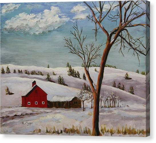 Dakota Winter Canvas Print