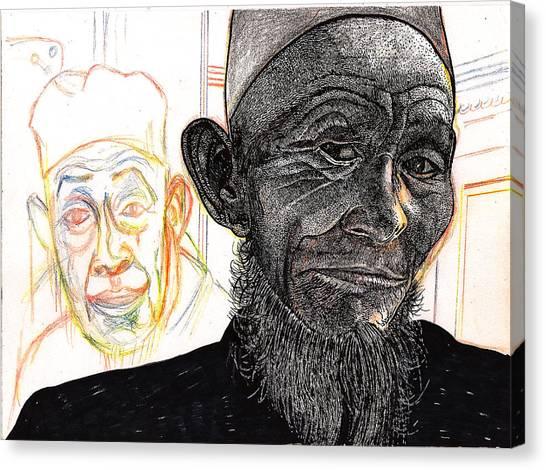 Dalai Happily Happened Upon Canvas Print