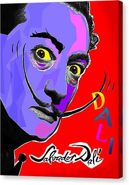 Dali Dali Canvas Print