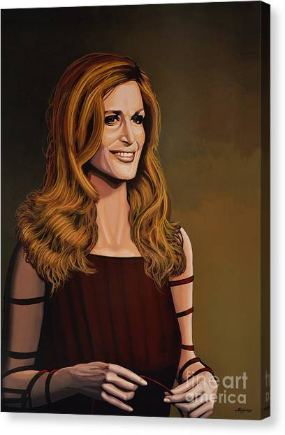 Egyptian Canvas Print - Dalida by Paul Meijering