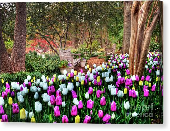 Dallas Arboretum Canvas Print