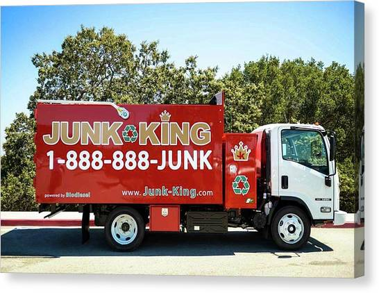 Junk Canvas Print - Dallas Commercial Junk Removal - Junk King by Junk King