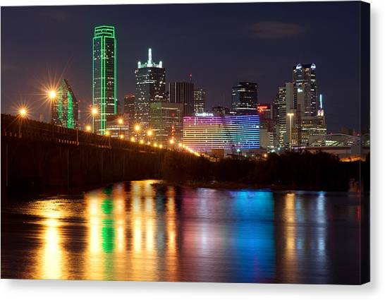 Dallas Reflections Canvas Print