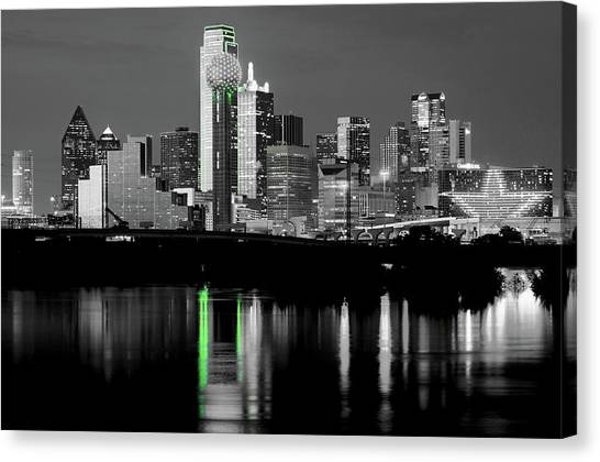 Dallas Skyline Gr91217 Canvas Print