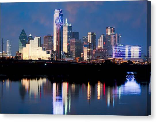 Dallas Skyline May 2015 Canvas Print