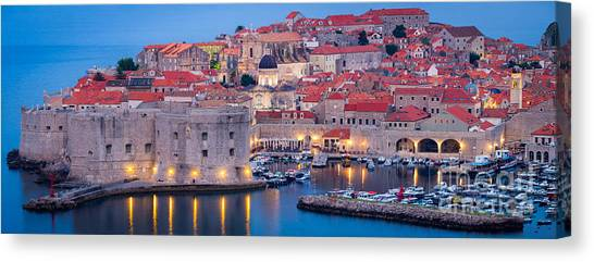 Fortification Canvas Print - Dalmatian Dawn by Inge Johnsson