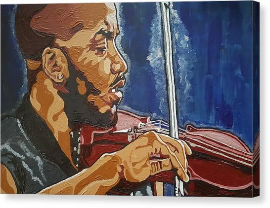 Damien Escobar Canvas Print