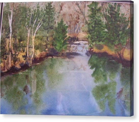 Dan S Pond Canvas Print
