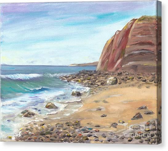 Dana Point Beach Canvas Print