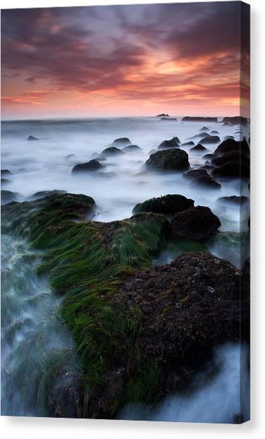 Dana Point Sunset Canvas Print by Eric Foltz