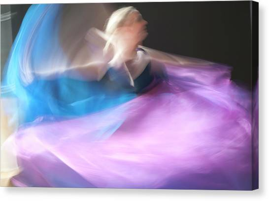 Dance Ballerina Canvas Print