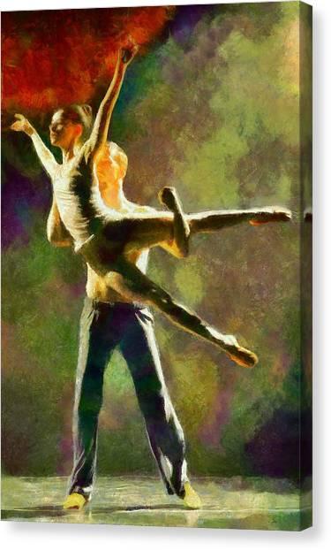 Dance 3 Canvas Print