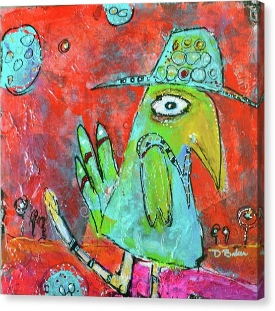 Canvas Print - Dance Bigger by Dolores Baker