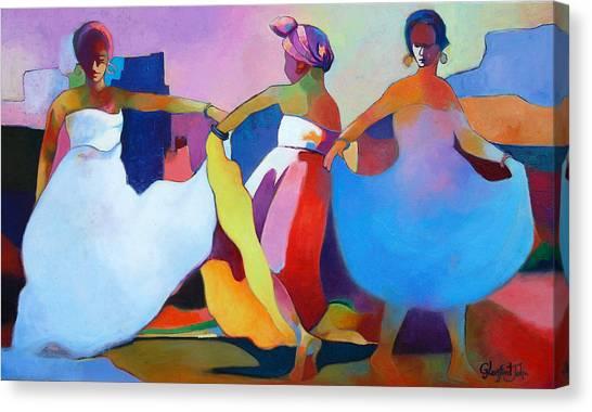 Dance Fest Canvas Print