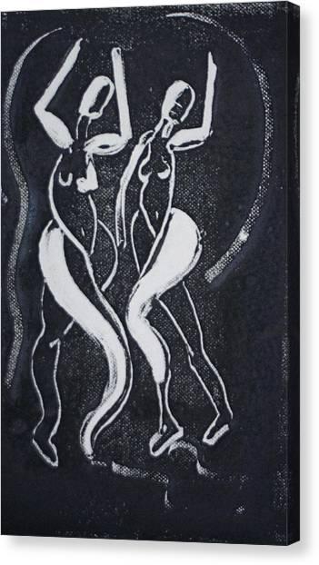 Dance IIi Canvas Print by Dan Earle