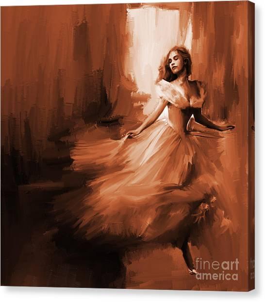 Dance In A Dream 01 Canvas Print