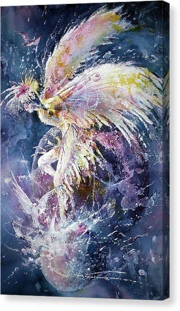 Dance In Flight Canvas Print