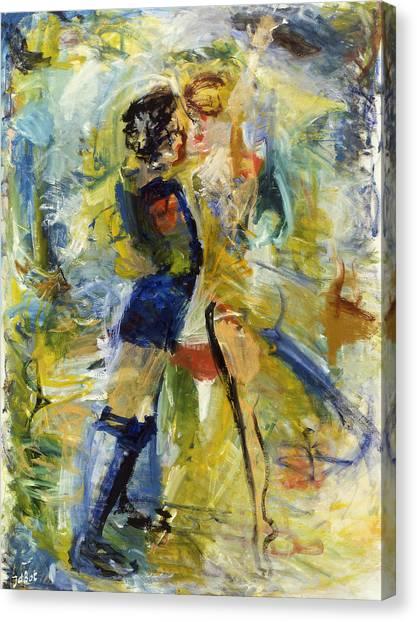 Dance Canvas Print by Joan De Bot