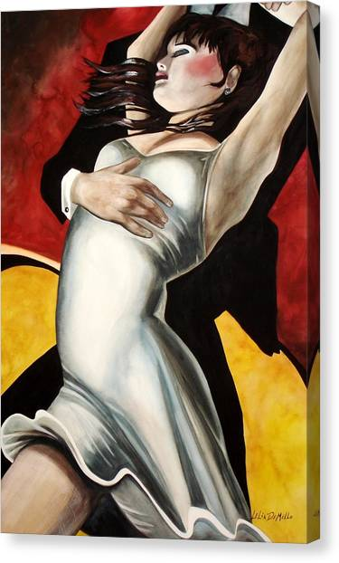 Dance Canvas Print by Lelia DeMello