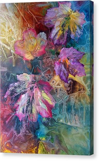 Dance Of Color Canvas Print