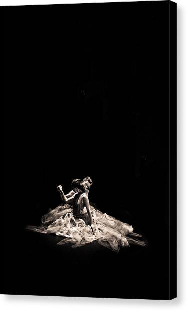 Dance Of Motion Canvas Print